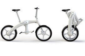 Revolutionary E-Folding Bike Debuts at Eurobike