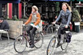 荷蘭自行車市場初露曙光