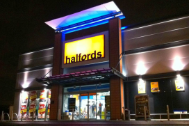 Halfords UK Increases Focus on P&A Sales