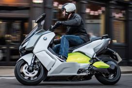 BMW摩托車將重心擺在電動交通工具