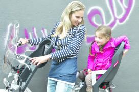 Polisport Awarded Baby Seat on Display