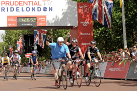 London Submits to Cycling