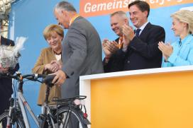 Kalkhoff S-Pedelec for German Chancellor Merkel