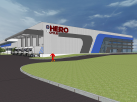 Hero Cycles Building 1 Million Unit Capacity Plant