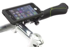 BioLogic自行車車把固定系統專為iPhone Hard Case保護殼所設計
