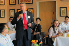LEVA在台北主辦年度交流晚宴