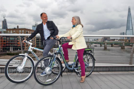 Raleigh Participates In UK E-Bike Study