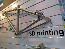 3D Printed Bicycle Frame Becomes Reality