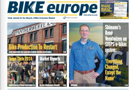 Bike Europe三月號現已可上網瀏灠