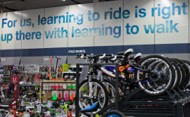 Double Digit Cycling Sales Increase at Halfords UK