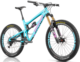 Santa Cruz Nomad with Carbon Chassis