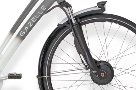 Gazelle Develops Front-Wheel System with Panasonic