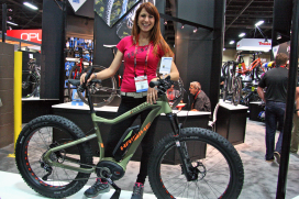 Interbike Show Signals: E-Bikes Speeding Up in US