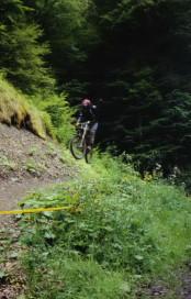Mountain Biking hits a Bump