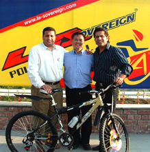 Sovereign Formed Indo-Thai Joint Venture with LA Bicycle