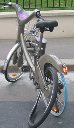 Success Velib Tempered by Costs of Breakdowns
