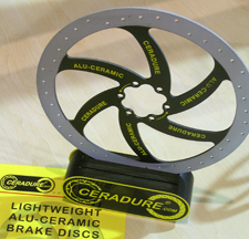 Lightweight Ceradure Rotors