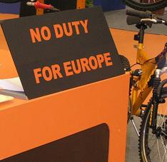 欧盟自行车进口的重大变化