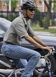 Free Bicycle Parking At Obamas Inauguration