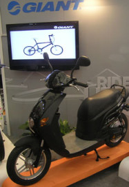 Shanghai Show: Giant Branching Out to Scooters?