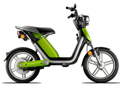 Matra's Cross-over between e-Bike and e-Scooter
