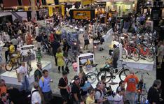美國拉斯維加斯Interbike自行車展,門庭若市熱鬧滾滾,擊敗經濟不景氣
