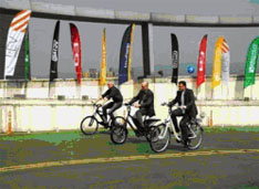 Test It e-Bike Track at Taipei Cycle Show