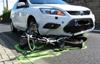 測試:車用安全氣囊保護自行車騎士
