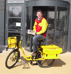 DHL on the Road with Bikes by Accell Pro
