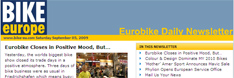 Mail Us Your News for Bike Europe Special Eurobike News Service