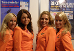 Bike Europe's Promo Team in Action at Eurobike