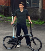 Tern Bicycle unfolds