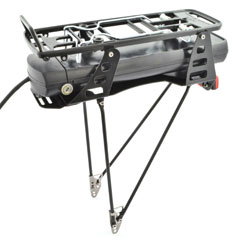 Pletscher Presents Inova Bosch Battery Integrated Rear Carriers