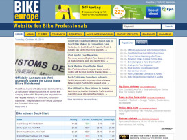 Welcome to Bike Europe's New Website