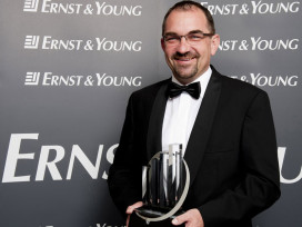 Biketec (Flyer) GM Kurt Schär Honoured with Swiss Entrepreneur of the Year Award