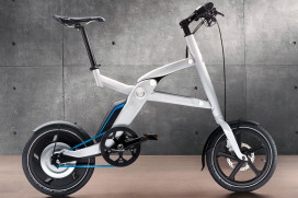 BMW Integrates (Folding) E-Bikes in E-Car Concept