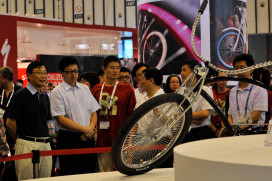 AsiaBike 2012: Luxury Bikes as China's New Status Symbol