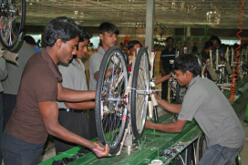 Production of Carbon Frames Starting in Bangladesh