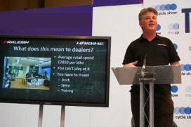 Raleigh表示:「電動登山車會是英國銷售成長最快的車款。」