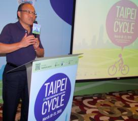 2015年台北國際自行車展依舊是亞洲最大的自行車車展