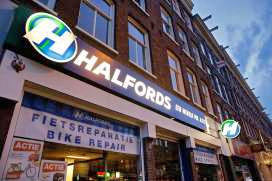 Inventory of Three Dutch Halfords Shops Auctioned