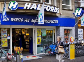 Halfords NL Restarts with 45 Stores