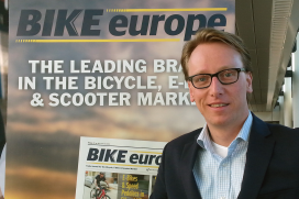 Bike Europe國際專案經理Van 't Hof