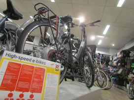 荷蘭高速電動自行車的銷售加速成長