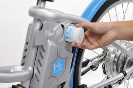 French La Poste Start Testing Cycleurope's Hydrogen Bike