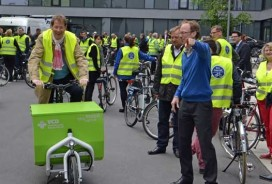 German Members of Parliament on Cycling Tour