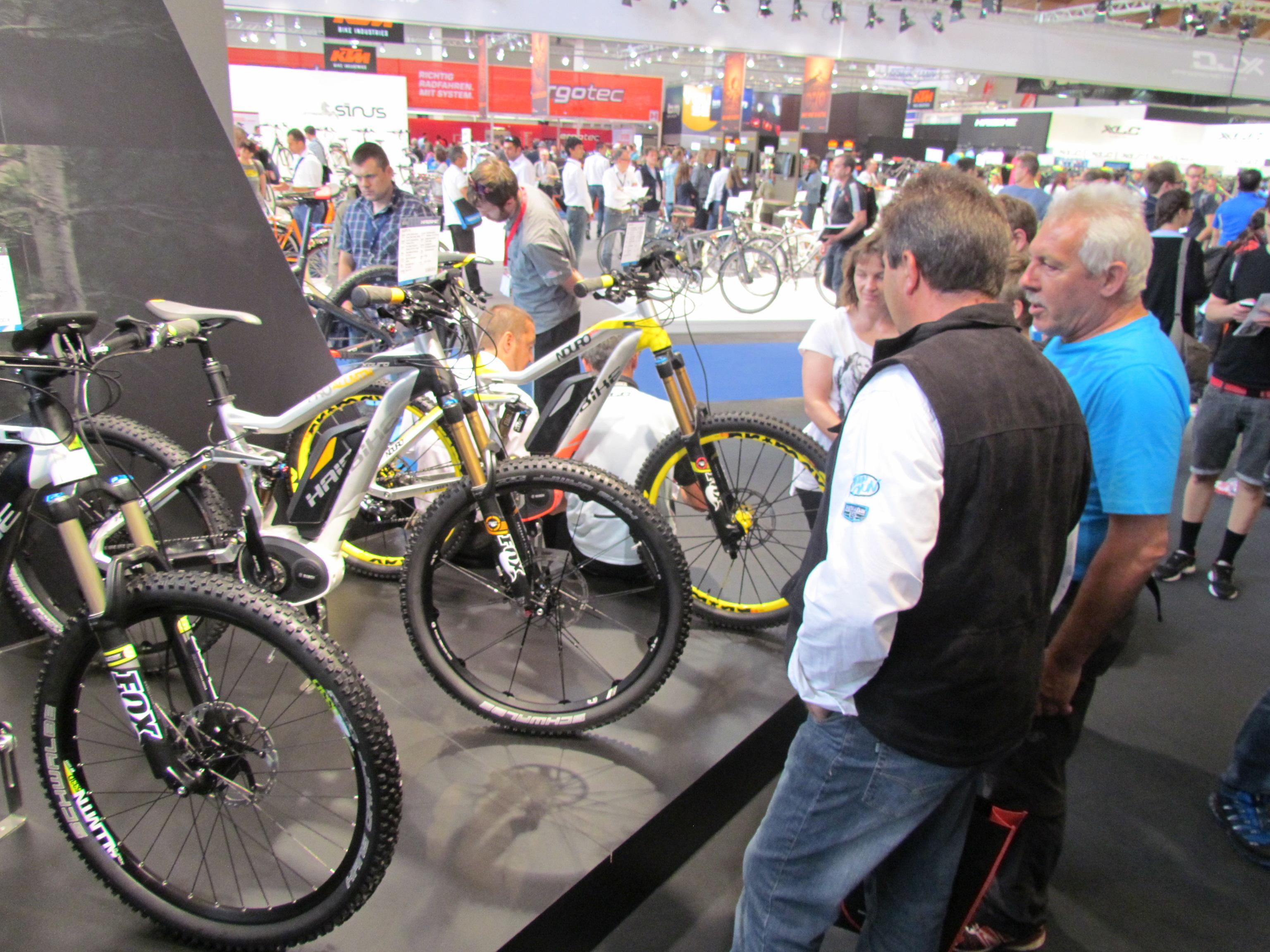 Eurobike Puts E Mtb At Front Row Bike Europe