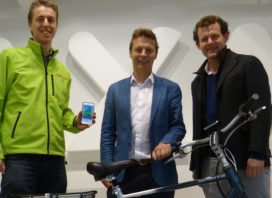 Connected Bikes Communicate for Anti-Theft Security