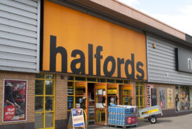 Halfords UK Post Flat Annual Cycle Sales with Market Share Growth