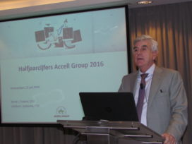 Accell 2016年前半年達成雙位數的成長